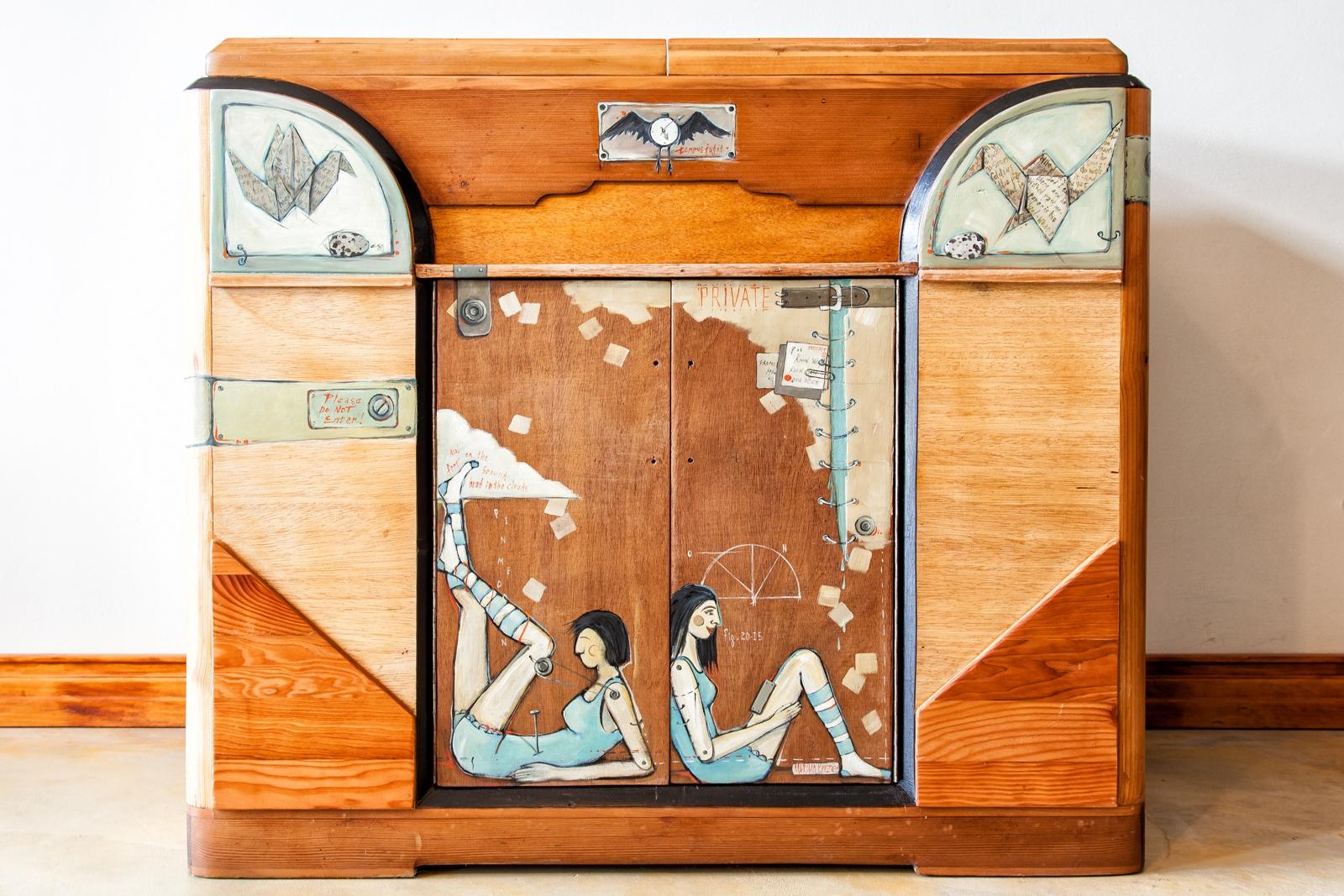 Artdeco cabinet mariaan kotze artist - What is art deco ...