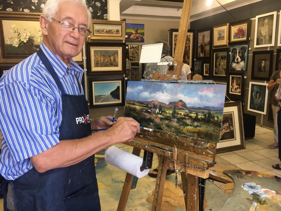 Kobus - the artist, my dad