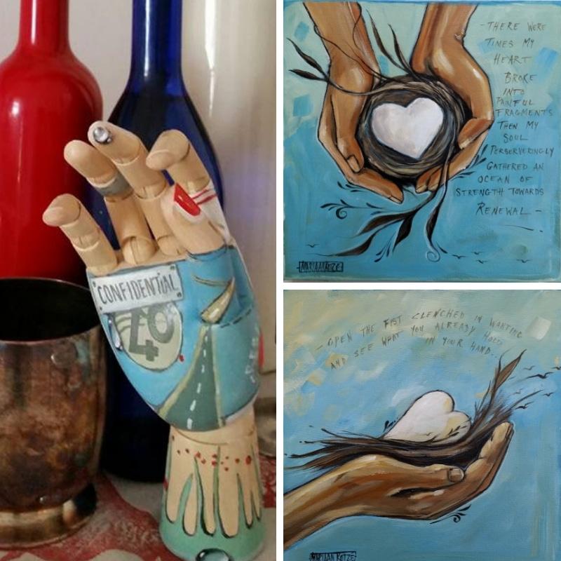 Messenger hands