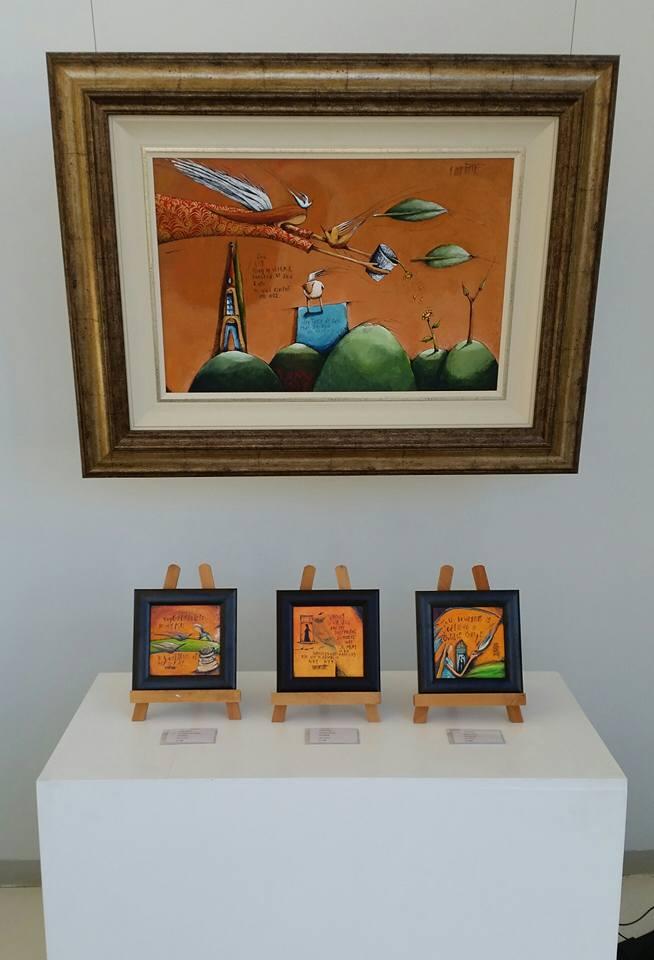 The symbolic dream paintings of Hanlie Kotze