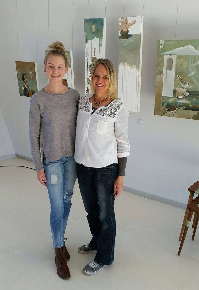 Mariaan Kotze and her daughter Heloise Rossouw
