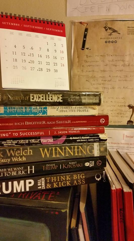 Motivational books, finances, money, grow rich