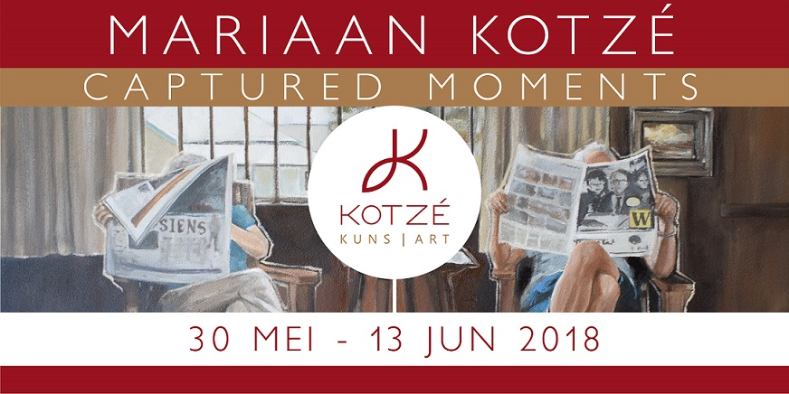 Solo exhibition at Kotze Art Gallery in Bloemfontein