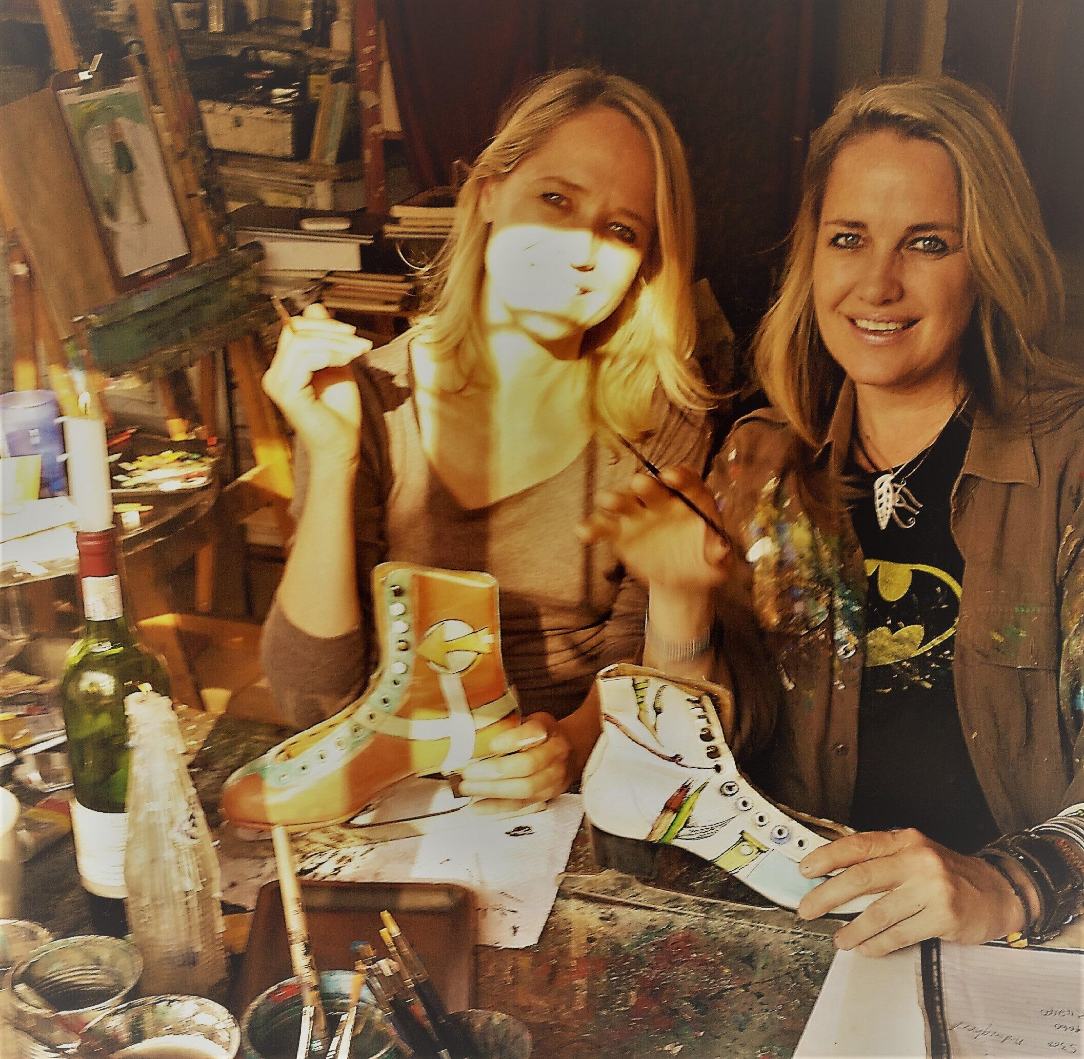 Mariaan and Hanlie Kotze , Sisters, artists