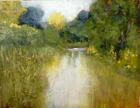 Hester's work is getting more beautiful by the day, the atmosphere she captures in each painting is magic.