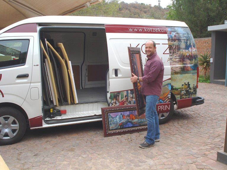 Always on the move! Floris on his way to the Vryfees