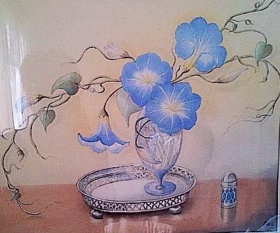 A painting by Fida, my grandma.