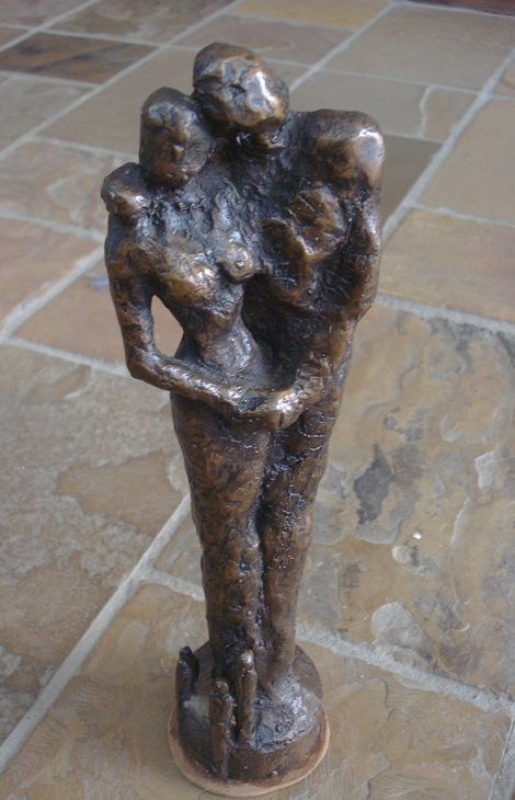 A once-off bronze sculpture I did as a student.