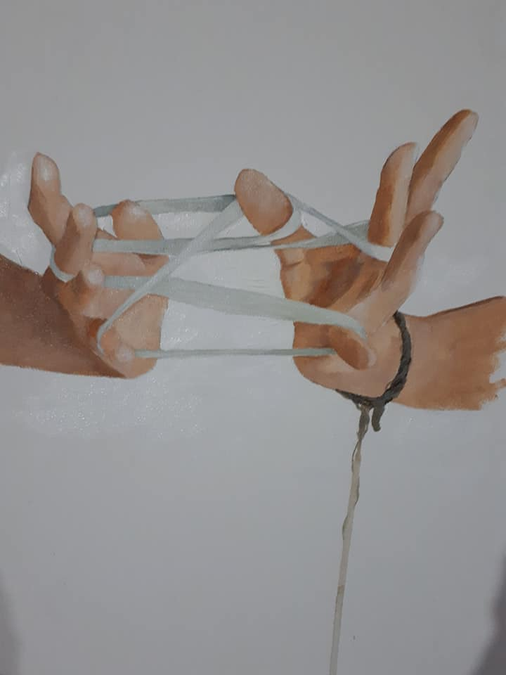 My hands, now what?