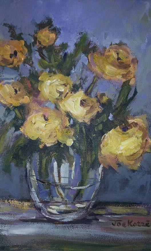 Yellow Roses 26x36cm