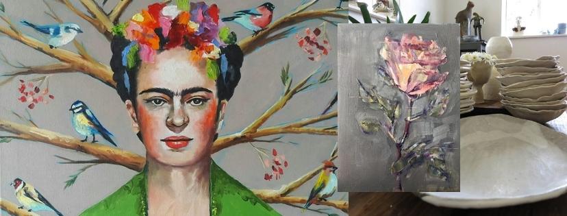 Artist Kari Vorster, Rentia Coetzee, Ronel Bakker