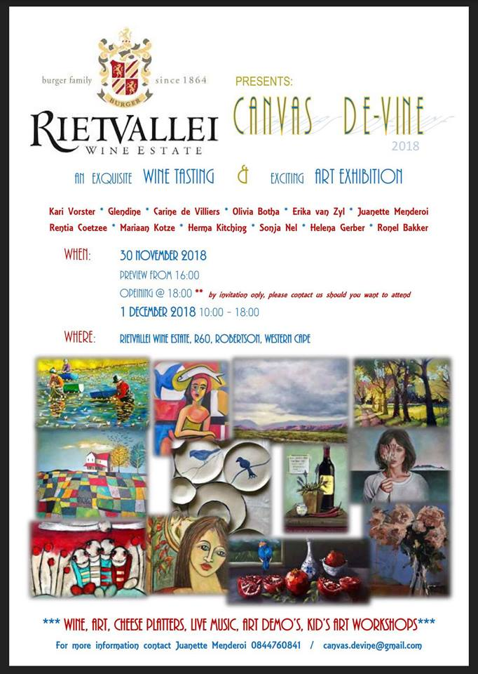 An exciting group art exhibition with quality, affordable art. Prize winning wine tasting and sales. Live music. Cheese platters available. Come and enjoy the exceptional art and wine vibe...