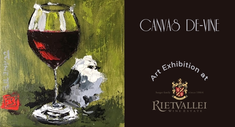 Canvas de Vine Art Exhibition @ Rietvallei