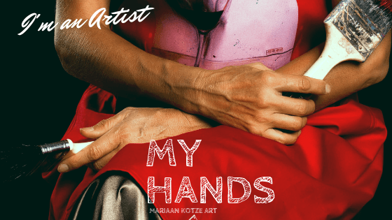 It is so that artists have shown through the hands the feelings they wished to represent. My Hands, Artist Hands