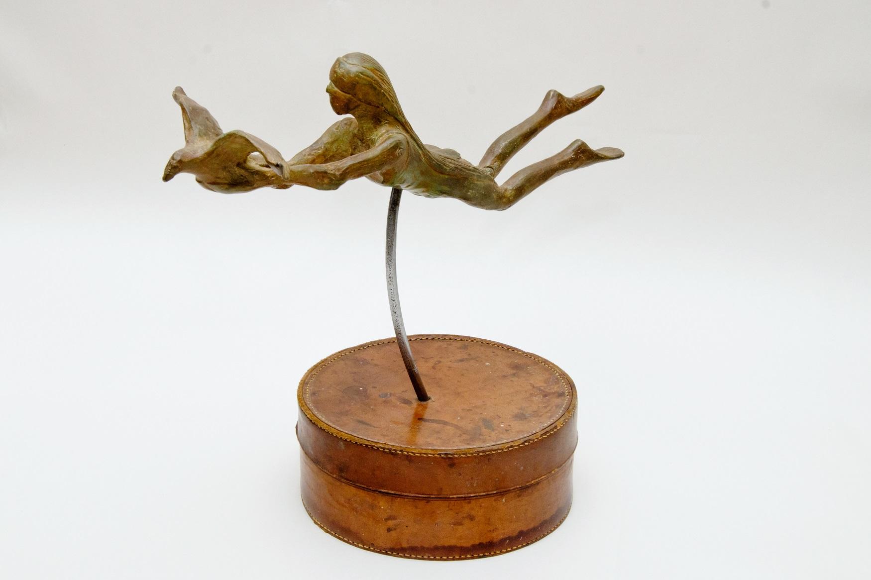 Blind Faith, Bronze Sculpture