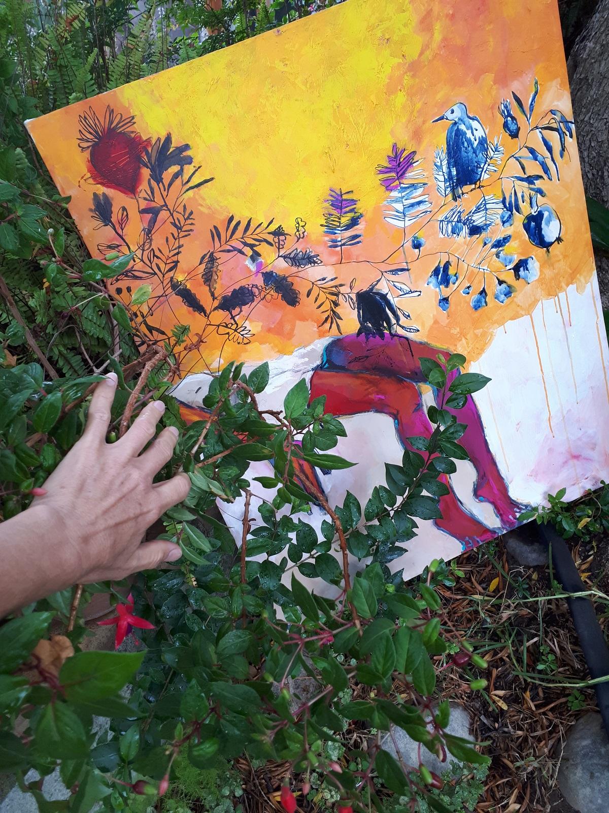 Symbolic painting by Glendine