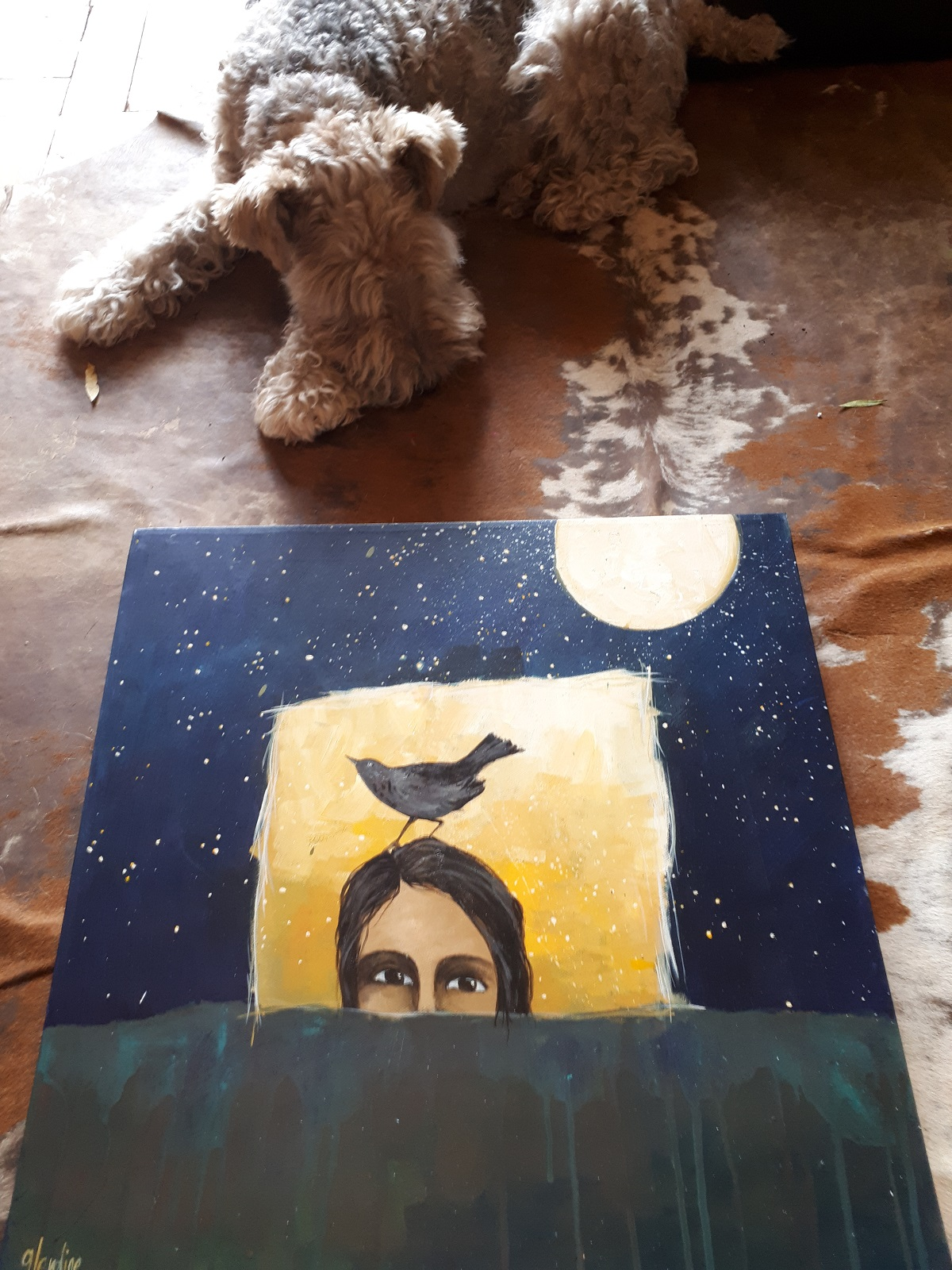 Glendine art