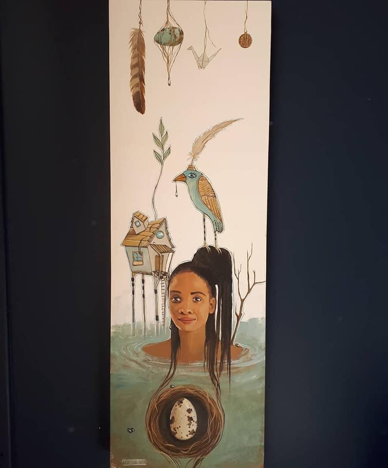 Symbolic painting Gypsy Soul