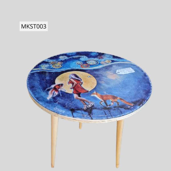 Retro style table - MKST003 Height 73cm Top 60cm